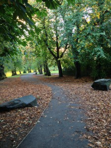 Barshaw Park in Autumn