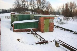Railway Yard in the Snow